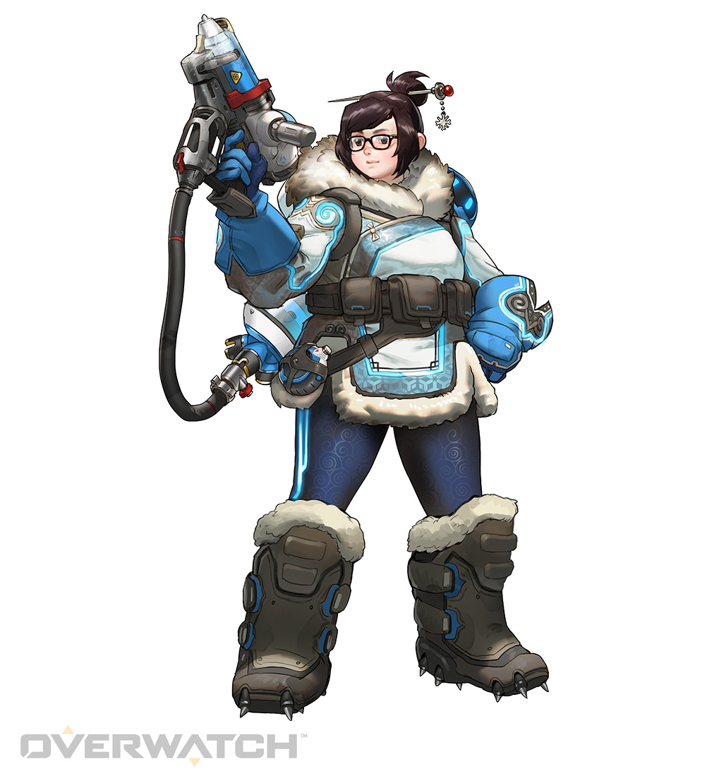 Character Design From The Ground Up : Mei heroes overwatch