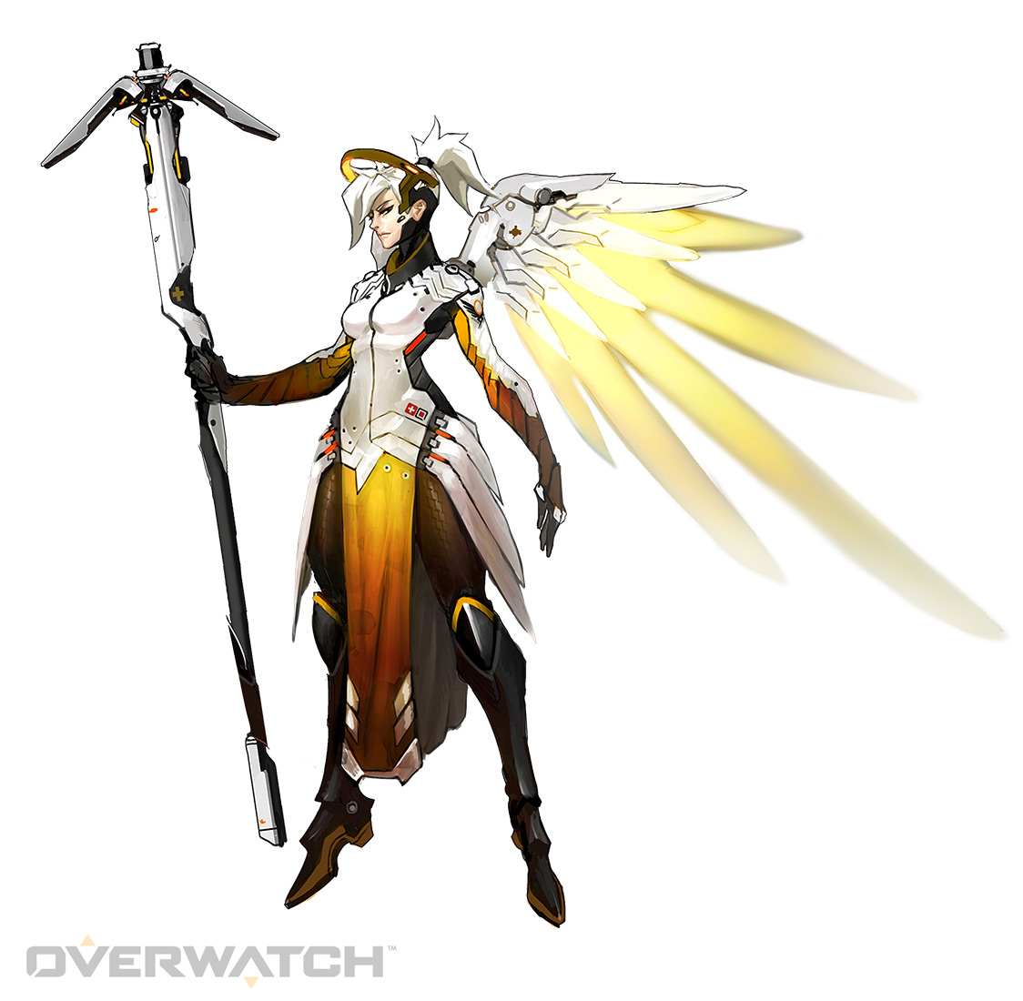 Ange : devient un bon Ange gardien avec ces conseils Mercy-concept