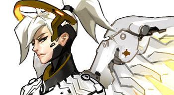 mercy heroes overwatch